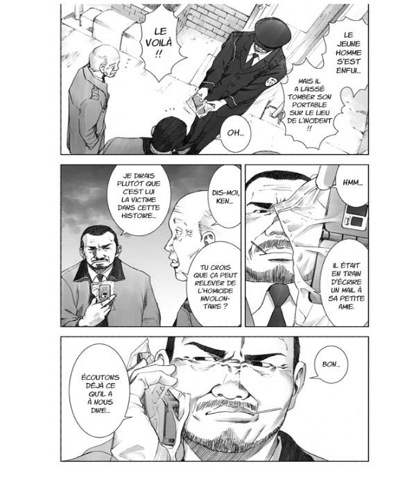 Manhole manga